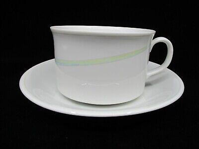 RORSTRAND CLAIR DE LUNE CUP & SAUCER - 2 3/8
