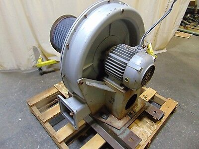 5 Hp Industrial Pressure Blower Fan 6 Inlet 230460v 3 Phase