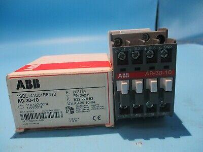 NEW ABB A9-30-10 CONTACTOR 110/120V COIL