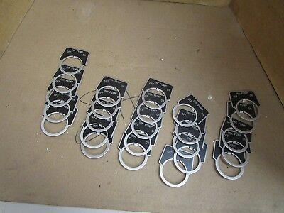 Lot Of 25 No Name Ink Pump Offon Legend Plates Aluminum W Off Set New