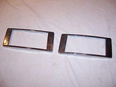 Used, 1948 - 1949 Packard Standard Tail Light Bezels for sale  Sodus