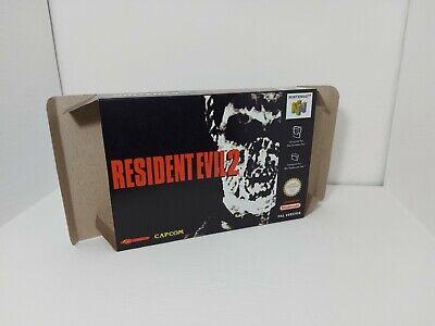 PAL - Resident Evil 2 - Nintendo 64 - N64 - Only Box
