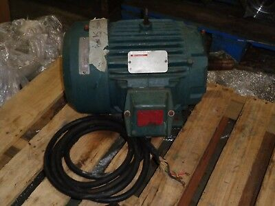 Reliance Electric Duty Master Motor 10hp - 230460v - 22.211.1a P21g3319h