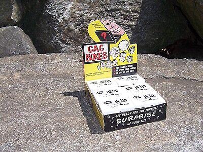 Vintage Gag Boxes NYC Novelty Toy Joke Gag Gift Old Store Display Original Box - Gift Boxes Nyc
