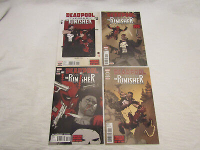 Deadpool versus Punisher issues #1-4 - Marvel new