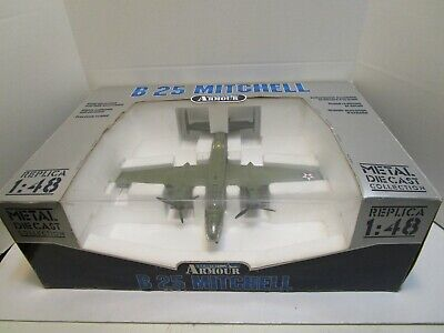 ARMOUR COLLECTION B25 MITCHELL 1/48 SCALE DIE CAST MODEL ***NEW IN BOX***
