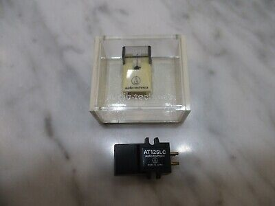 AUDIO TECHNICA AT125LC CARTRIDGE & GENUINE AUDIO TECHNICA ATN-125LC STYLUS +CASE for sale  Shipping to India