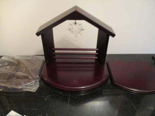 Vtg NIB Princess House 3 Piece Wooden Nativity Creche/ Manger 764A Boxed