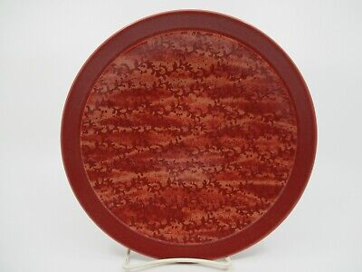 "NORITAKE ELEMENTS - CORAL - RED - SALAD PLATE  8 1/2""  0309D"