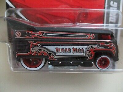 HOT WHEELS - GARAGE - VOLKSWAGEN VW DRAG BUS (REAL RIDERS) - DIECAST