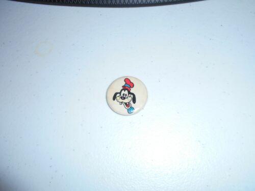 Vintage DISNEYANA-Pin Back Button-Goofy-(Western Badge Co)