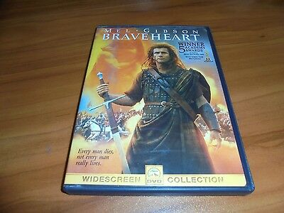 Braveheart (DVD, 2000, Widescreen)  Mel Gibson Used