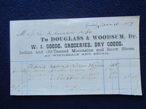 1877 Indian made Moccasin
