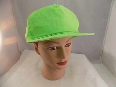 WHERE'S WALDO? NEON GREEN STITCHED SNAPBACK BASEBALL HAT CAP PRE-OWNED - Waldo Hats