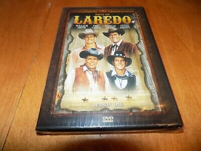 BEST OF LAREDO SEASON 1 ONE TV Western Classic Old West Series DVD SEALED