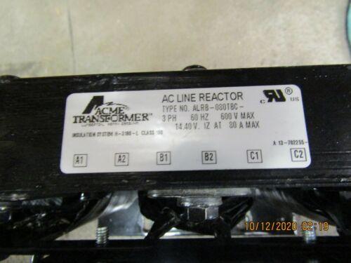 ACME TRANSFORMER AC LINE REACTOR ALR8-080TBC - USED