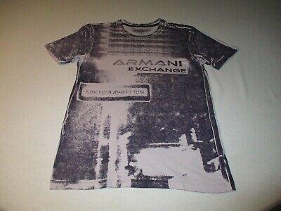 """Armani Exchange XS T-Shirt size 34"""" chest excellent CLEAN/CRISP condition"""