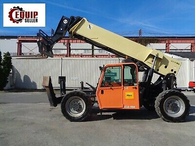 2013 Jlg G12 55a Telescopic Boom Forklift 12000lbs Diesel 4x4 55ft Height