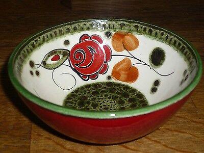 1 Dessertschüssel Schüssel 12 cm    SCHRAMBERG   TIROL Handgemalt