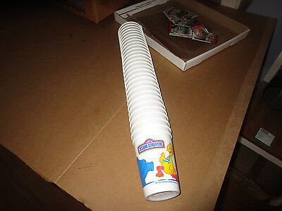 Huge 1990's Sesame Street Live Plastic Cup Lot (28) From Horn & Horns Baltimore (Sesame Street Plastic Cups)