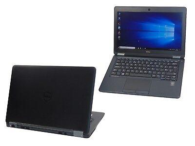 Dell Latitude E7250 Core i5-5300U 2.30GHz 8GB Ram 128GB SSD Laptop Webcam HDMI