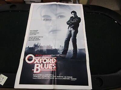 One Sheet Movie Poster Oxford Blues 1984 Rob Lowe Ally Sheedy Amanda Pays