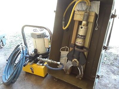 Genesisrescue Extraction Tool Jaws Of Life Hydraulic Cutter With Power Pack