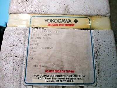 New Yokogawa 103021rxrx7mbh 0-300 V Ac Voltmeter