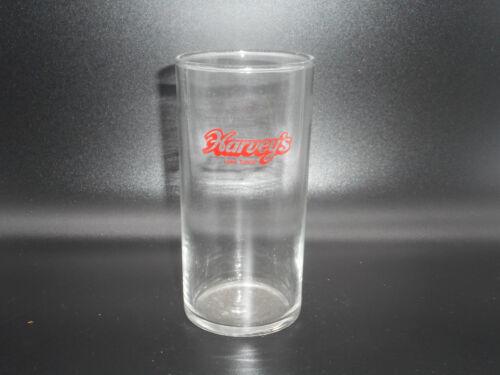 Vintage Harveys Resort Casino Hotel Lake Tahoe Advertising Cocktail Glass