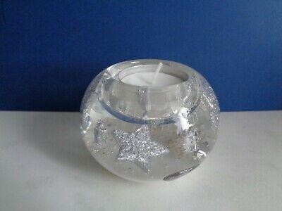 """Teelichthalter Glas  durchgefärbt mundgeblasen /""""GILDE/"""""""