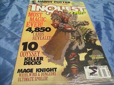 INQUEST GAMER ,November  2001 , Caming + Trading Cards Magazin , US - Original   gebraucht kaufen  Isernhagen