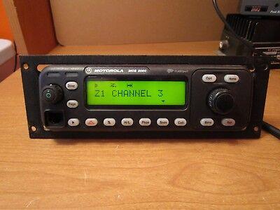Motorola Mcs2000 Control Head Flashport Mcs 2000 W Console Face Plate Mount