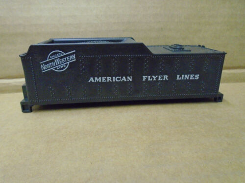 AMERICAN FLYER S GAUGE CHICAGO NORTHWESTERN TENDER SHELL FOR LOCOS #282 & 287