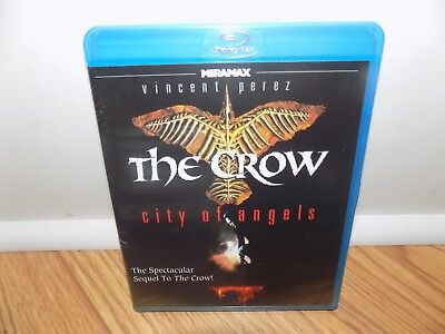 The Crow  City Of Angels  Blu Ray Disc  2011  Brand New Sealed