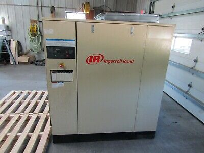 Ingersoll Rand Ssr-hp75 Rotary Screw Air Compressor Warranty 2009 Low Hours