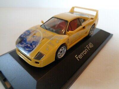 "1/43 Scale Plastic Herpa 010436 Ferrari F40 ""Weihn 2000"" With Box EC"