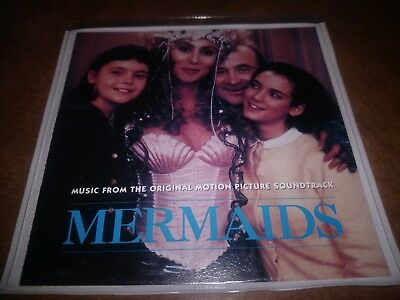 'Mermaids' Soundtrack CD w/ Booklet & Slim Case