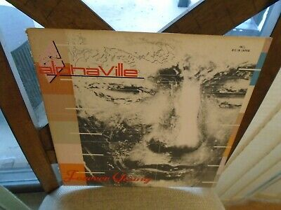 Alphaville Forever Young LP 1984 Atlantic Records VG+ [Big In Japan Synth Pop]