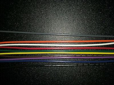 18 Awg Gauge Stranded Hook Up Wire 10 Colors 10 25 50 Ft Ul1007 300v