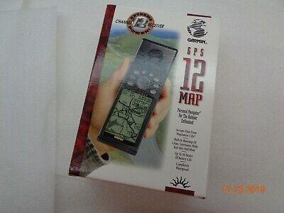 ☝ Garmin GPS 12 Chan Handheld GPS, NICE! Accessories! Warranty*! FREE Shipping!