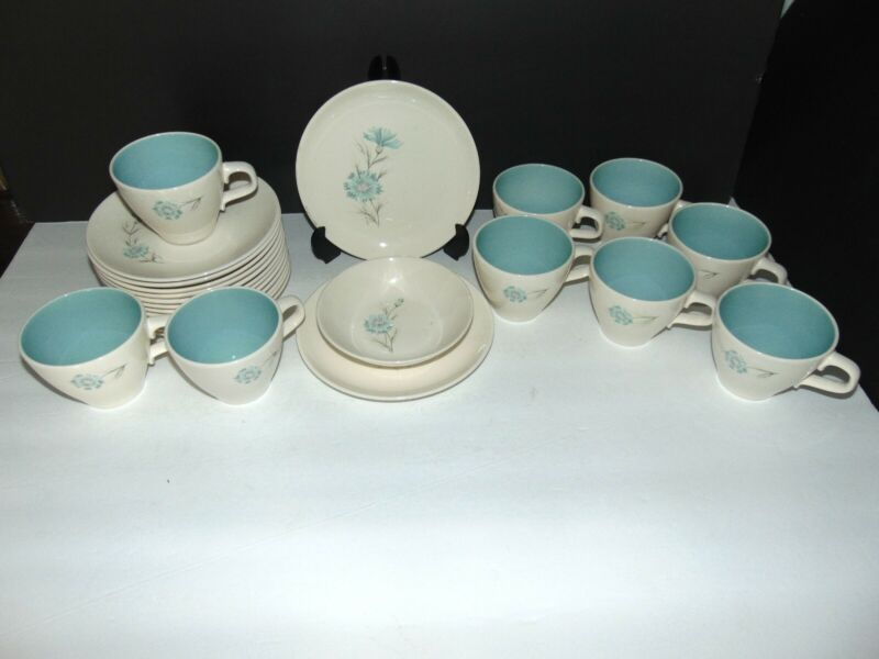 Assortment Taylor Smith Boutonniere Ever Yours Dinnerware 9 Cups 12 Saucers ++
