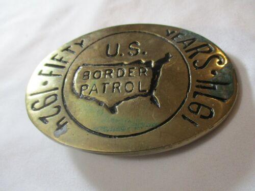 Vintage 1974 US Border Patrol 50th Anniversary #