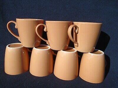 Seven Martha Stewart Essentials Light Brown Coffee Cups  Martha Stewart Glass Mug