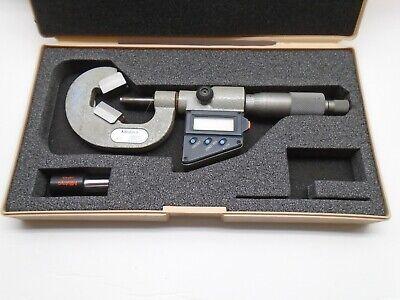 314-712-30 Mitutoyo V-anvil Micrometer .4-1