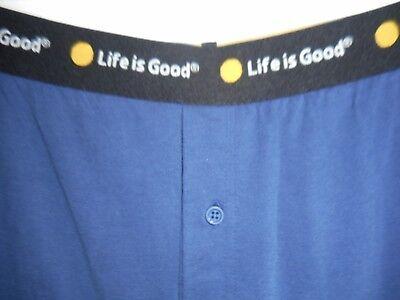 LIFE IS GOOD Blue Sleep Pajama Mens Lounge Pants Size XXL NEW ()