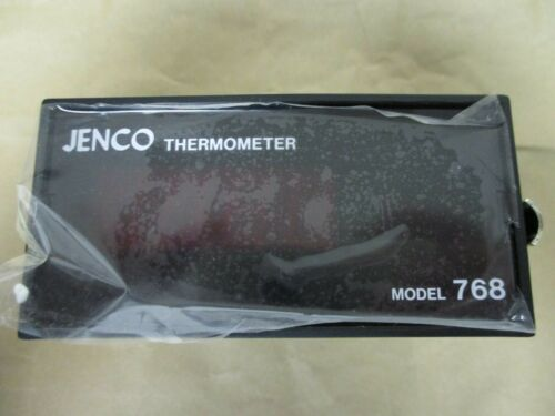 Jenco Panel-Mount Thermometer JF02, Thermocouple, 32 to 428 Degree F