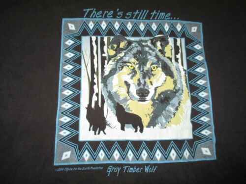 "Vintage 1994 GRAY TIMBER WOLF ""There"