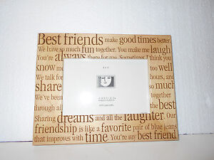 new wood 4 x 6 amerigo best friends make good times sharing picture frame