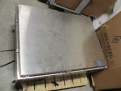 Hoffman 48x36x16 Stainless Steel Control Enclosure
