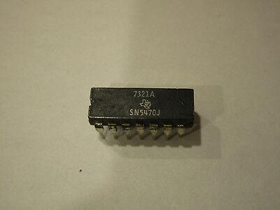 Sn5470j Sn5470 5470 Edge Triggered Jk Flip Flop Nos